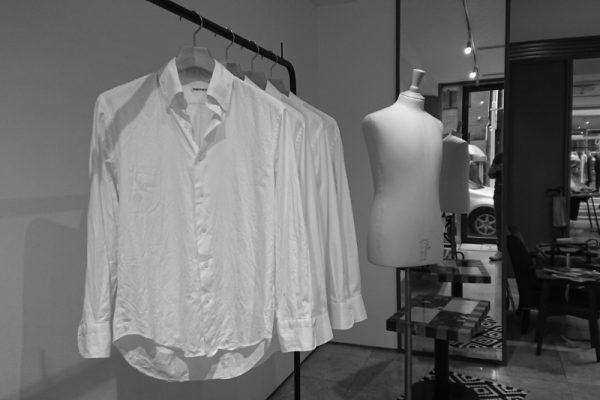 オリジナル ボタンダウンシャツ は白1色展開